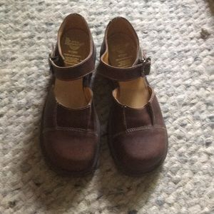 Dr Martens Air Ware Brown Mary Jane Size 7